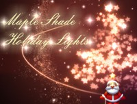 Maple Shade Holiday Lights