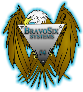 BravoSix.com's new website design